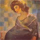 60 x 60 cm Acrylic Painting