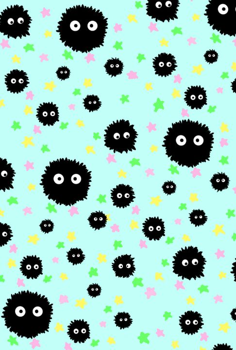 Soot Sprite Wallpaper - Astral Arts