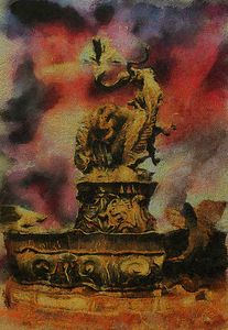 The Dragon Fountain 1
