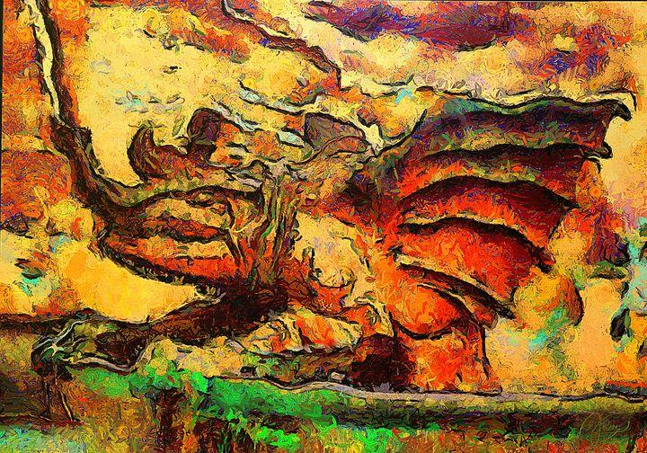 The Dragon Fountain   2 - A dragon - Konstantin Sochnev