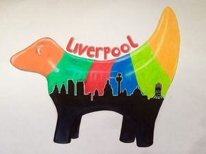 Liverpool Skyline - Lamb Banana