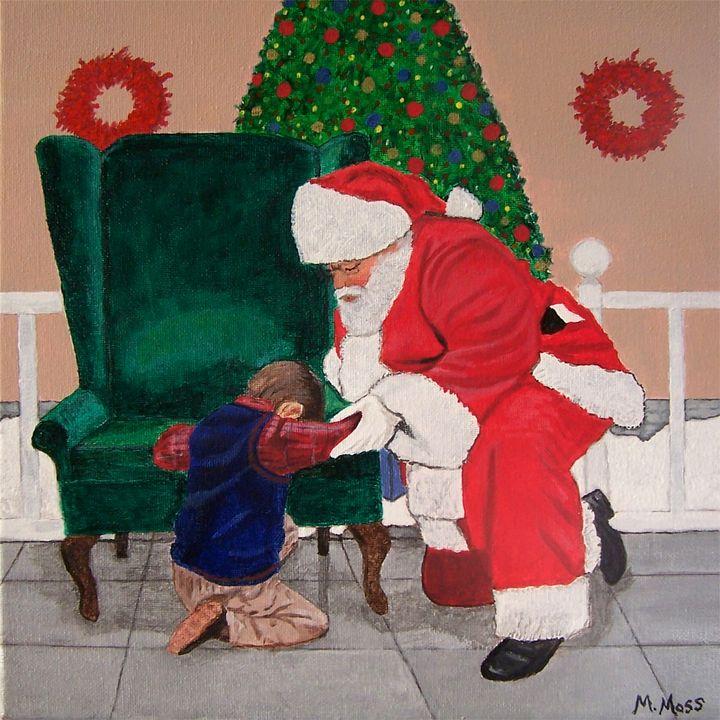 Praying With Santa - Annie Jaxx