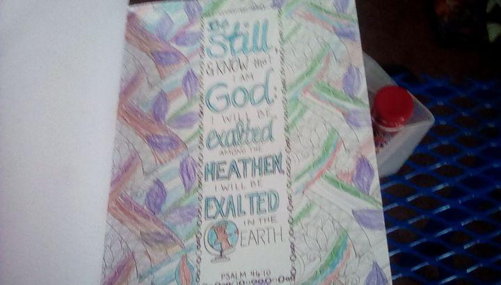 Religious words - Sherry Workman