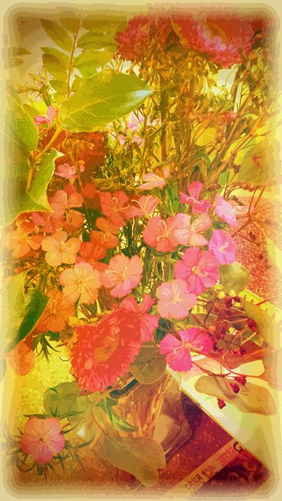 Antique Floral 1 - Sherry Teeler