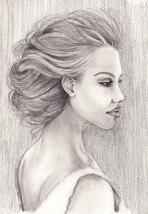 Drawing - Zaharia Maria