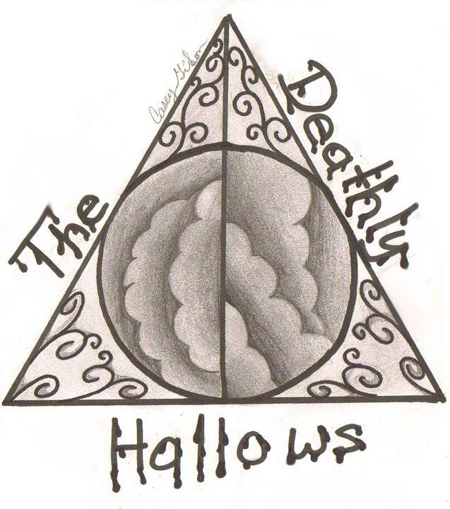 Deathy Hallows Symbol. - Casey's Art