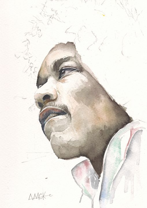 Jimi Hendrix - Anthony Mckenzie