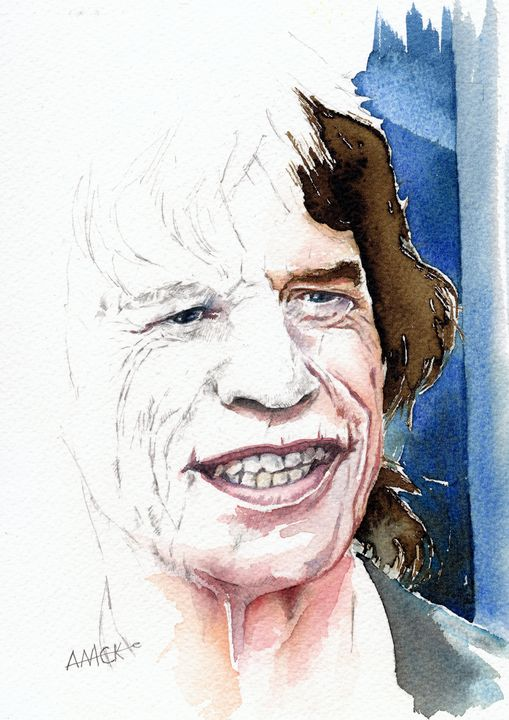 Mick Jagger - Anthony Mckenzie