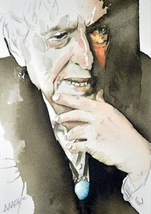 Bob Dylan (older) - Anthony Mckenzie
