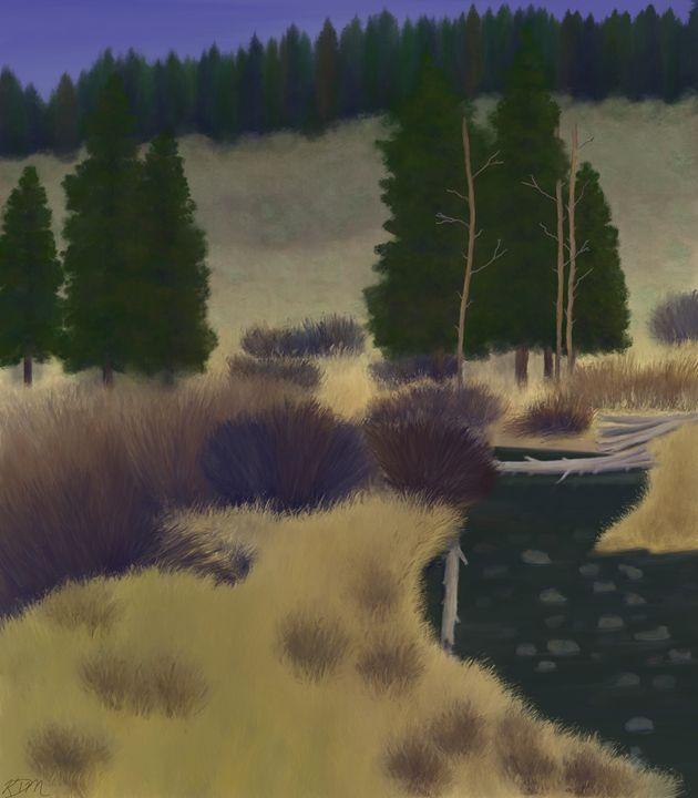 Creek - Kelly McVinnie
