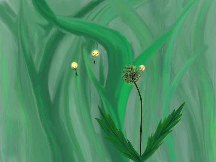 Dandelion Magic - Kelly McVinnie