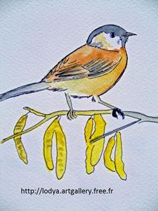 BIRD WATERCOLOUR