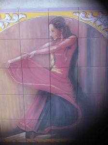 Flamenca - AdevaCeramicArt