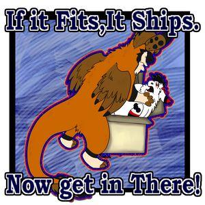 If it fits it ships!