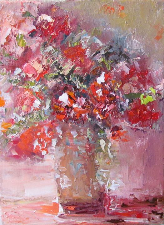 Bouquet in red - Elena Nayman