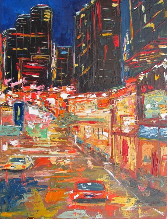 Night Lights - Elena Nayman