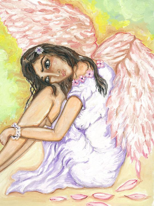 Broken angel wing - Kriyaarts