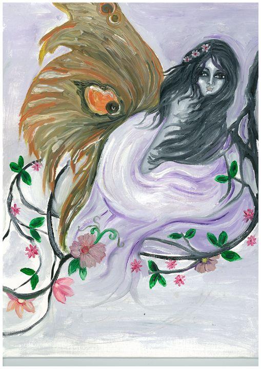 Butterfly princess - Kriyaarts