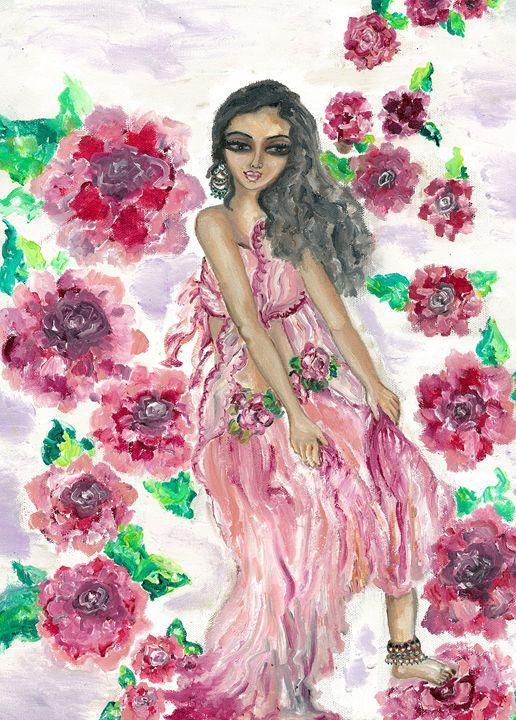 Flower fairy - Kriyaarts