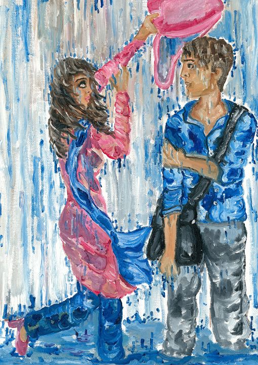 Love in the rain - Kriyaarts