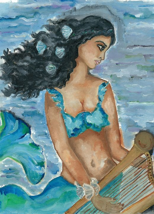 Mermaid singing - Kriyaarts