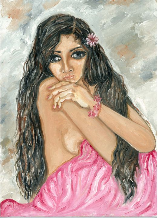 Beauty lost in thought - Kriyaarts
