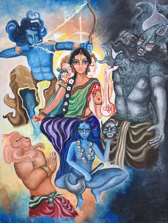 Celebrating the goddess - Kriyaarts