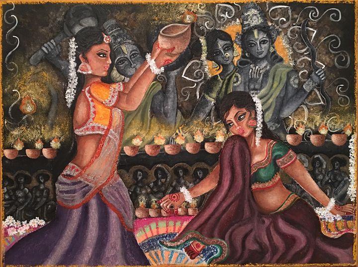 Celebrating Diwali - Kriyaarts