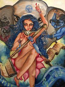 Throat Chakra Goddess