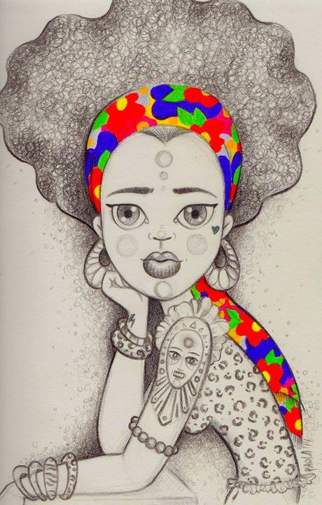 Africa - PaolaBeatrixArt