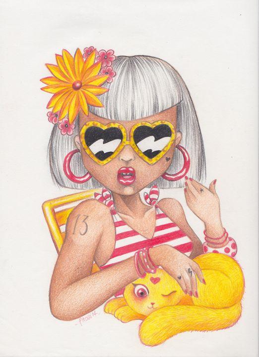 Sunny Day - PaolaBeatrixArt