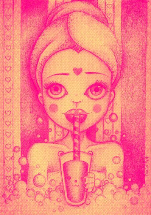 Bubbles - PaolaBeatrixArt