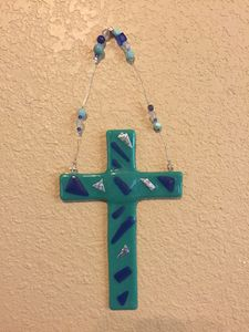 Glass Cross - Haylee's Touch of Glass