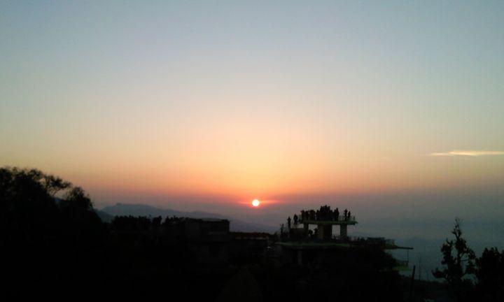 Sunrise at Sarangkot, Pohkara, Nepal - May