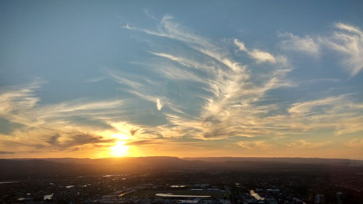 Sunset, Gold Coast, Australia - May