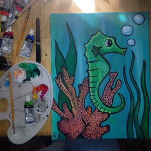 Seahorse See Hell