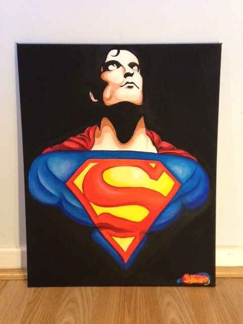 Superman out of the darkness - Daniel hewers gallery