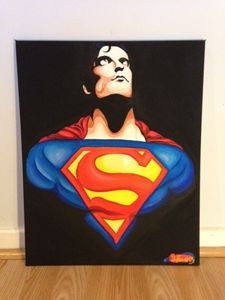 Superman out of the darkness