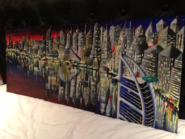 Dubai at Dusk - Daniel hewers gallery