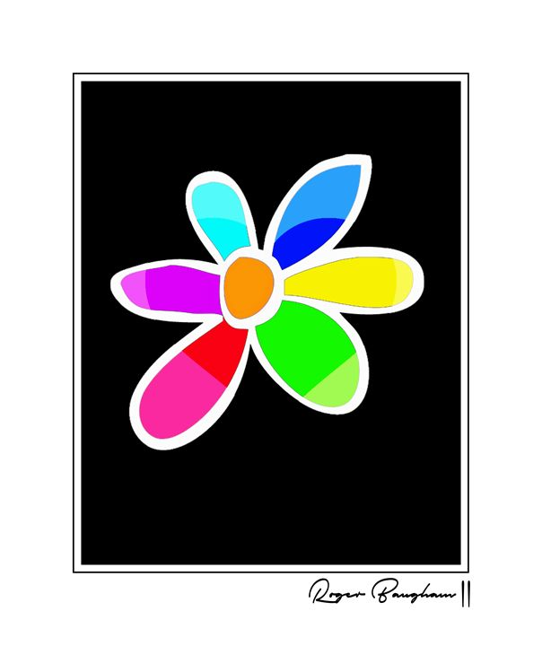 FLOWER OF COLORS - The Art Store