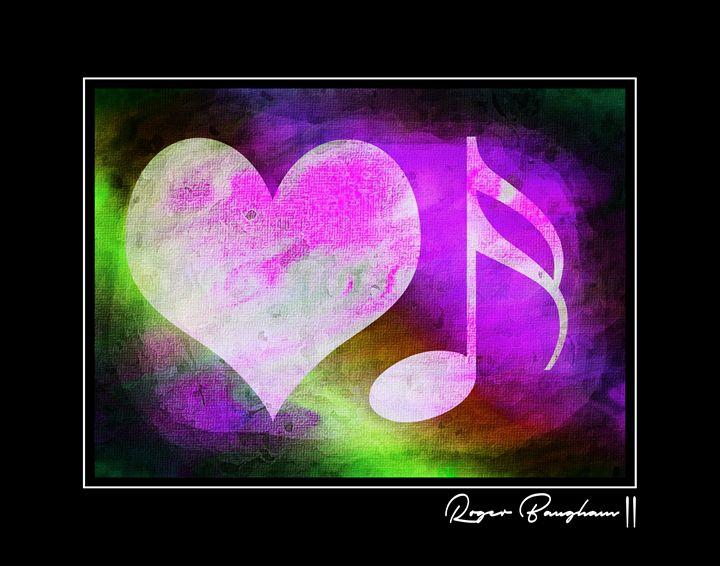LOVE MUSIC - PAINT - 2 - The Art Store