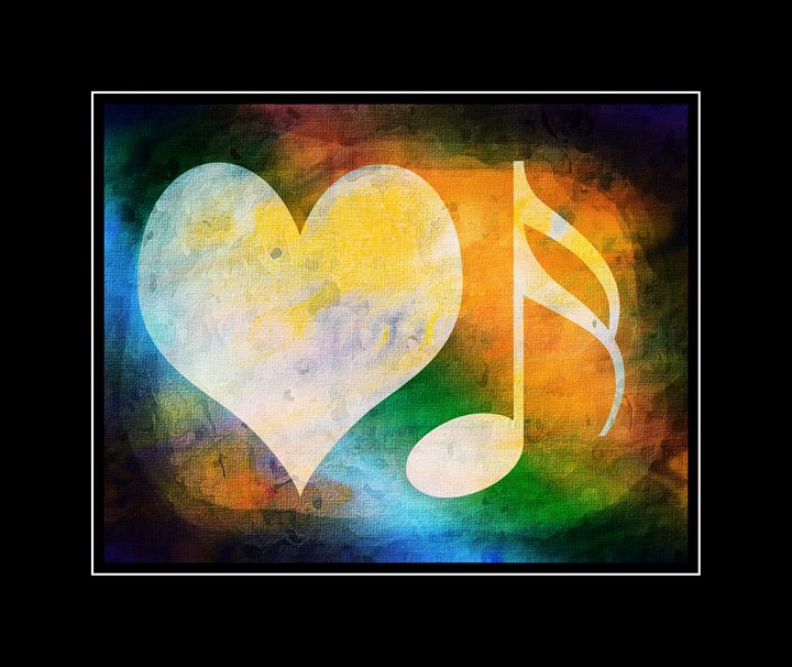 LOVE MUSIC - PAINT - 1 - The Art Store
