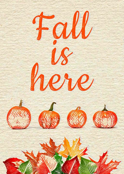 FALL IS HERE - The Art Store