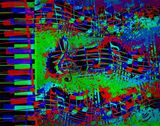 MUSICAL PIANO - 2 (11X14)