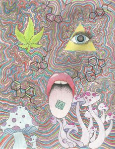 Mind Medicine - Alyse Gaul's Drawings