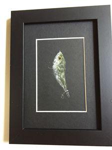 Fishing Fly Pastel Sketch