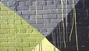Brooklyn Abstract Street Art
