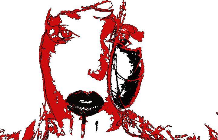 Bold woman Negative - PoCArts