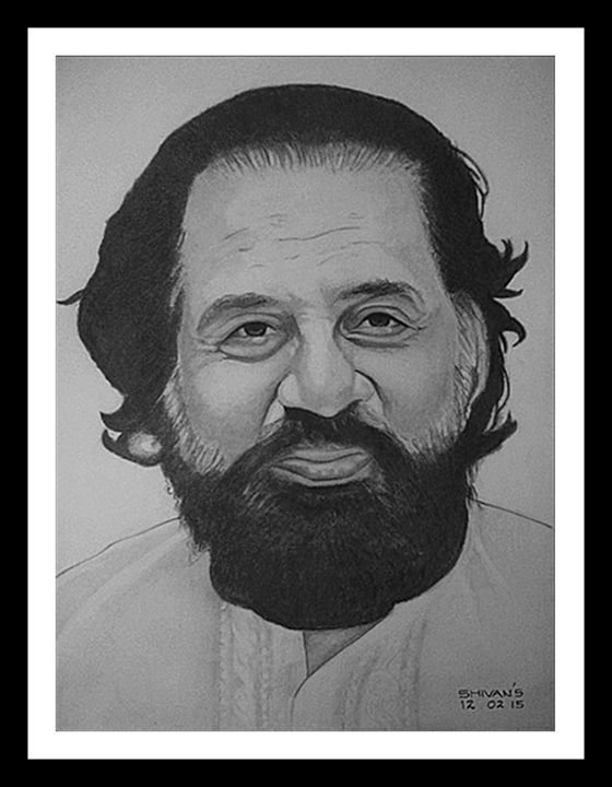 INDIAN SINGER K.J. YESUDAS - SHIVAN'S CREATIVE STUDIO
