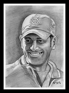 INDIAN CRICKETER M.S. DHONI